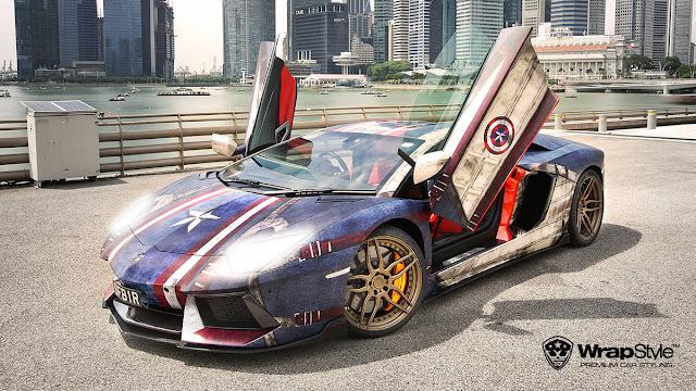 Superheroes Supercars Designs