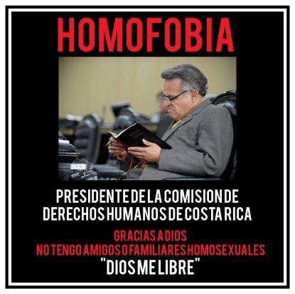 justo orozco, costa rica, homofobia, comision de derechos humanos, dios, ateo