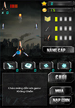 game không chiến cho android hot, game không chiến