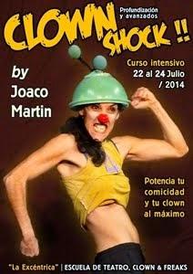 CLOWN SHOCK / Profundización y Avanzados - Madrid, 9, 10 y 11 Septiembre