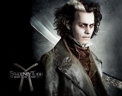 Johnny Depp Sweeney Todd Movies Wallpaper