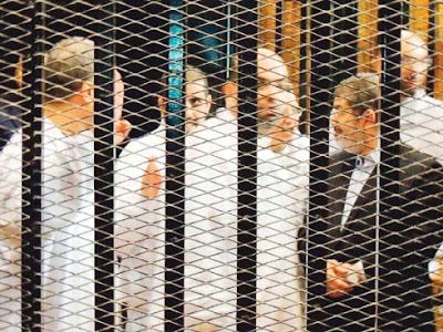 Mohammed Mursi Dibawa Ke Penjara Iskandariah