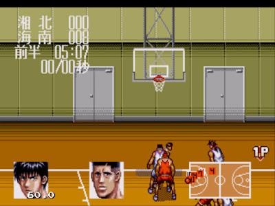 【MD】灌籃高手:正面的對決下載,骨灰級的漫畫籃球遊戲!