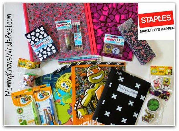 $25 Staples Back to School Gift Card Giveaway