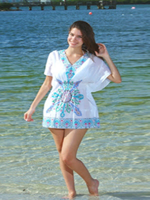 tunic beach dresses
