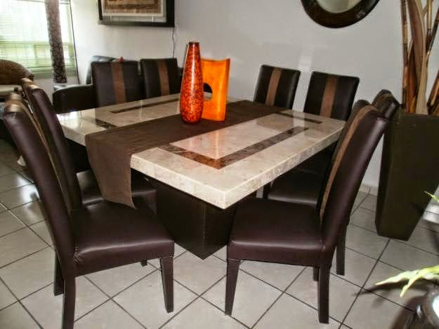 Comprar muebles de m rmol y algarrobo algunos consejos for Comedor de marmol 8 sillas precio