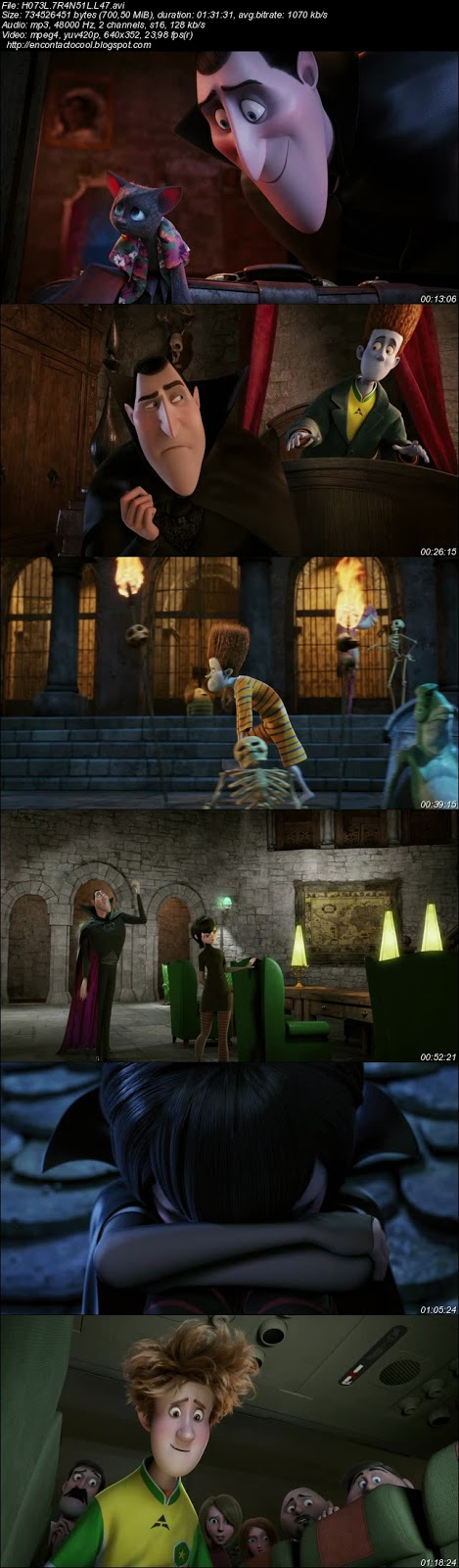 Hotel Transylvania (2012)  screenshot