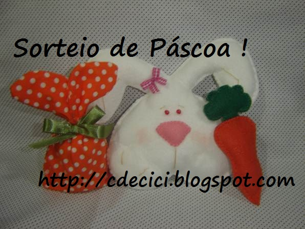Sorteio no blog C de Cici