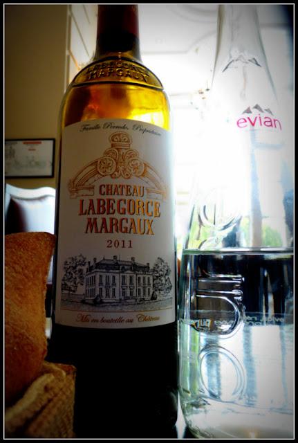 Margaux wine la Véranda Gordon Ramsay Trianon Palace Versailles