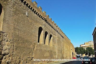 Il passeto di Borgo en Roma