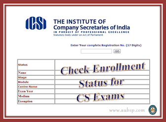Enrollment Status for CS Exams