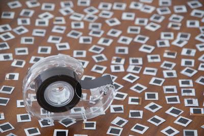 Magnettape pixel magnets DIY