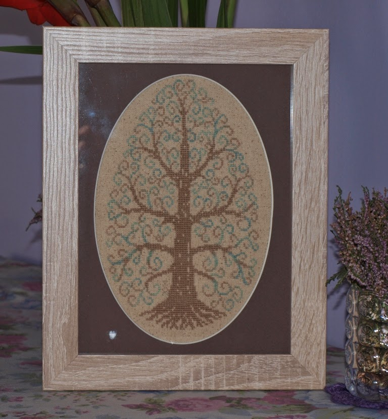 Jajo wielkanocne - drzewo