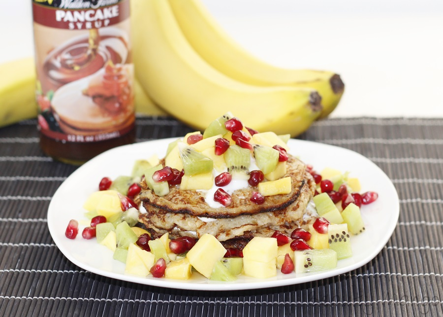 Mango And Banana Pancakes Recipe — Dishmaps