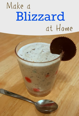 make a blizzard at home DIY