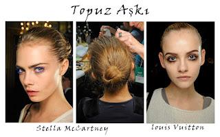 topuz 2015 Saç Modası