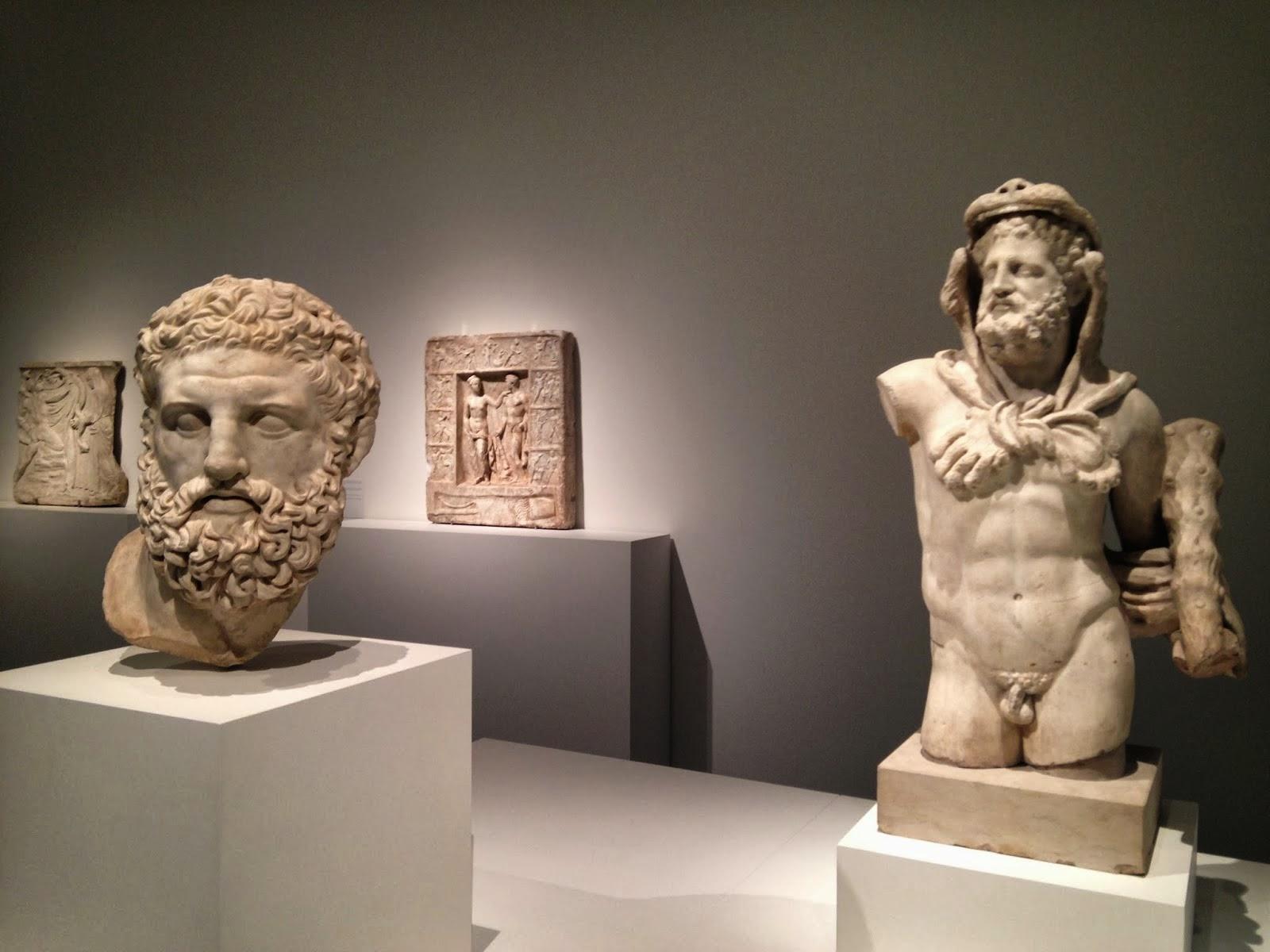Cabeza y torso de Heracles