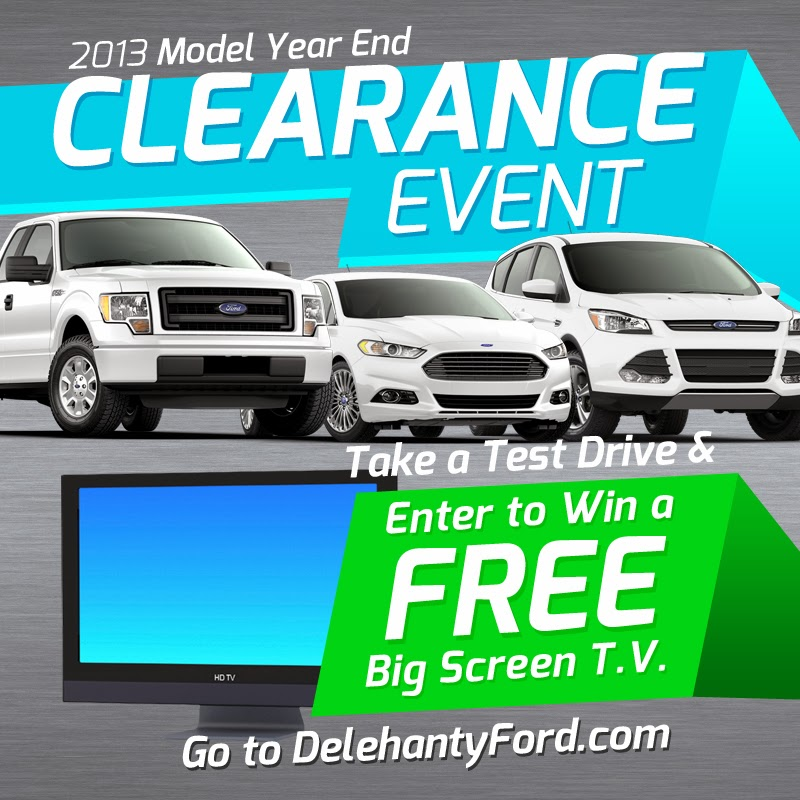 2013 Model Year End Clearance Event