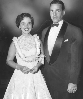 Shirley Temple with husband Charles Black