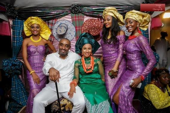[Official Photos] Ibinabo Fiberesima And Her Hubby's Traditional Wedding