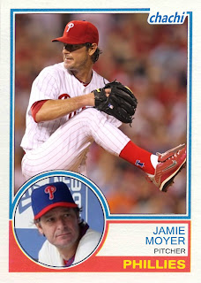2011 Chachi Almost #2 Jamie Moyer