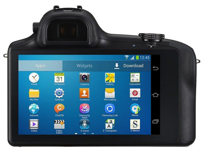 Kamera Samsung Galaxy NX Kamera Pintar Dengan OS Android Jelly Bean