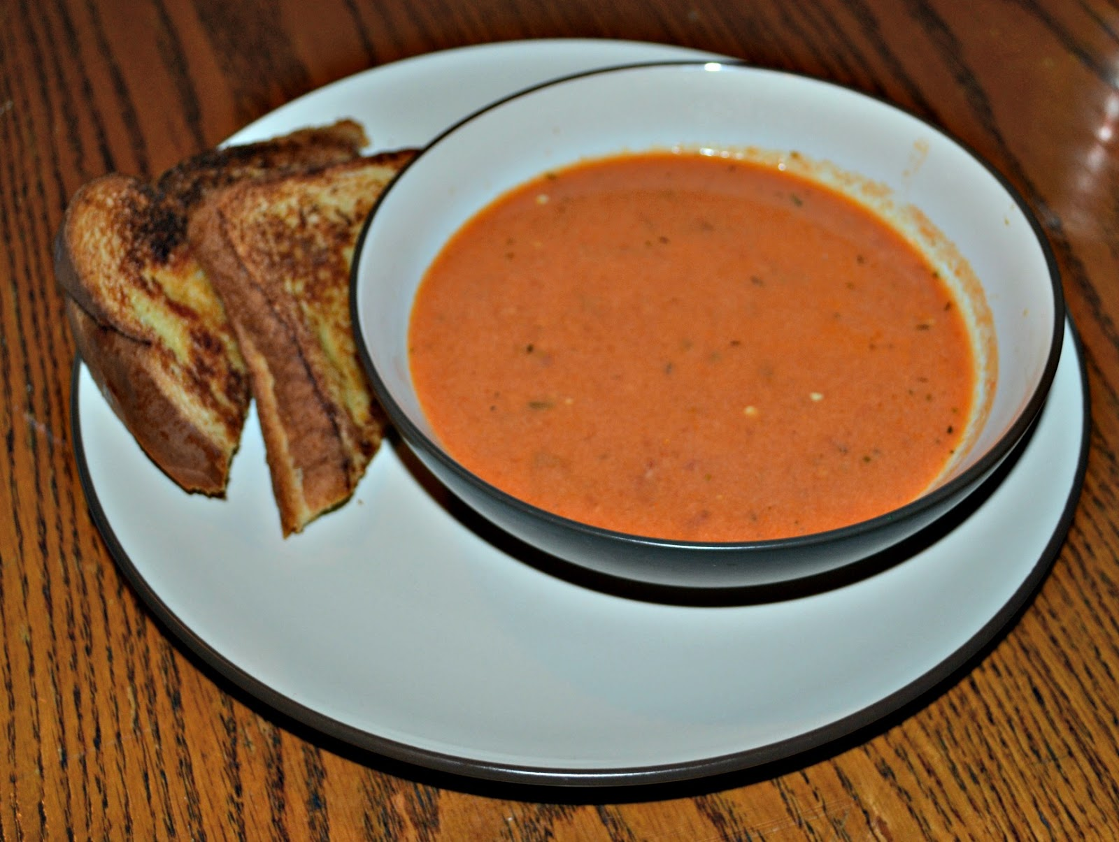Roasted Tomato Soup - Hezzi-D's Books and Cooks