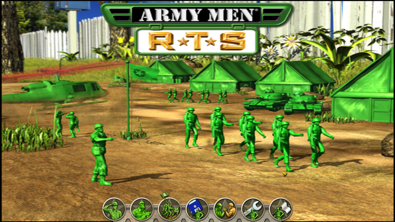 Army Men RTS + OST + MOD + Save 100% [Mega]