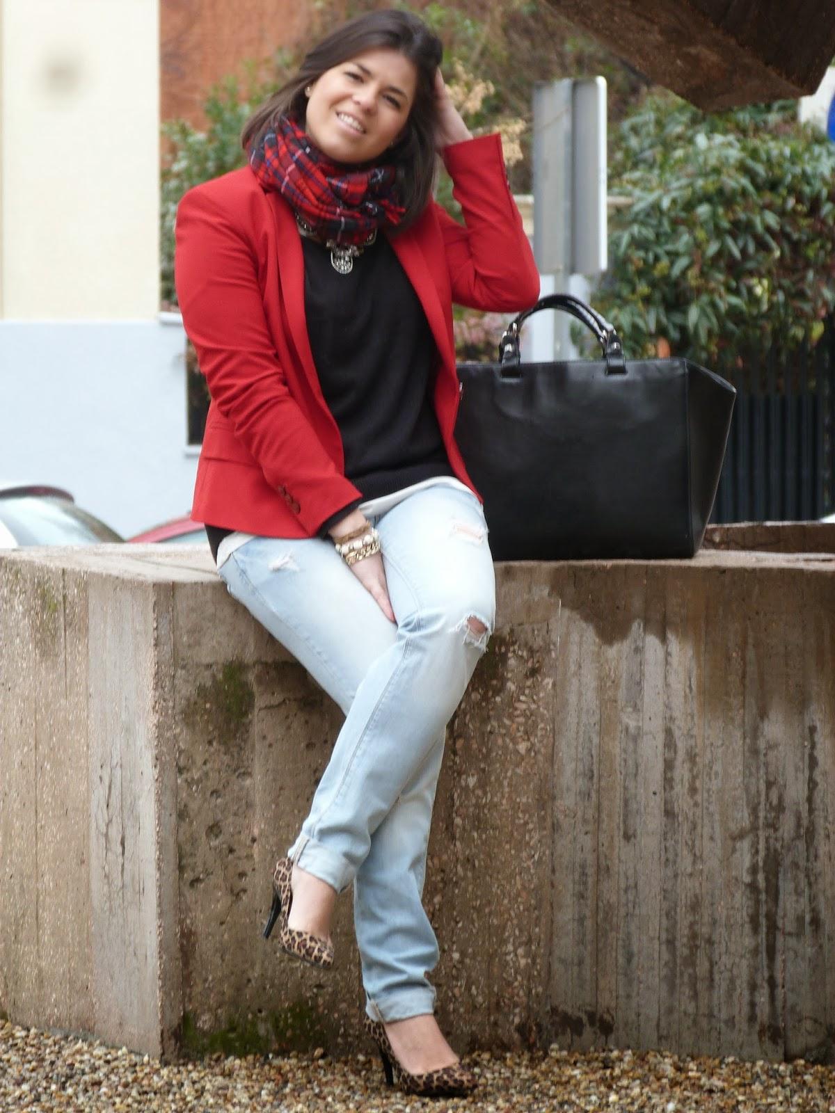 blazer roja 3