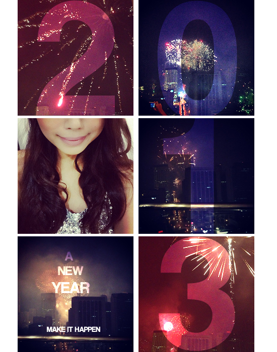 My New Year as seen on Instagram