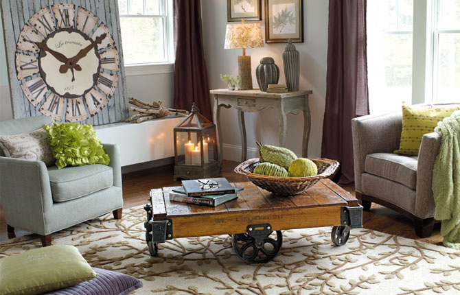 Staged above favorite places to shop for staging and for Room decor home goods