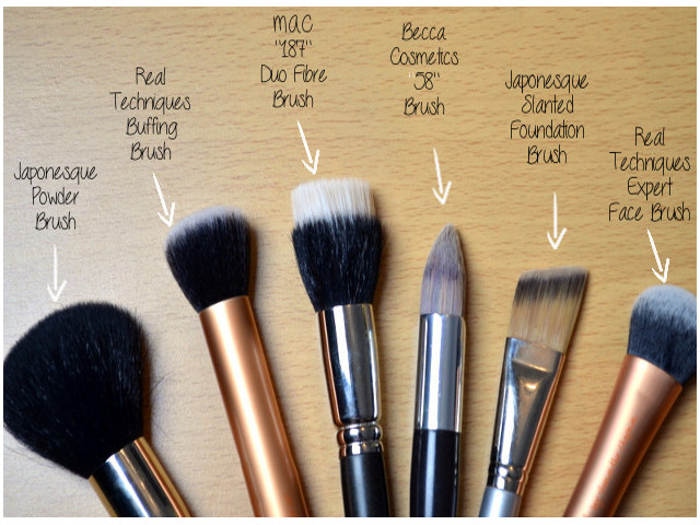 Brushes For Foundation - Epiphannie A