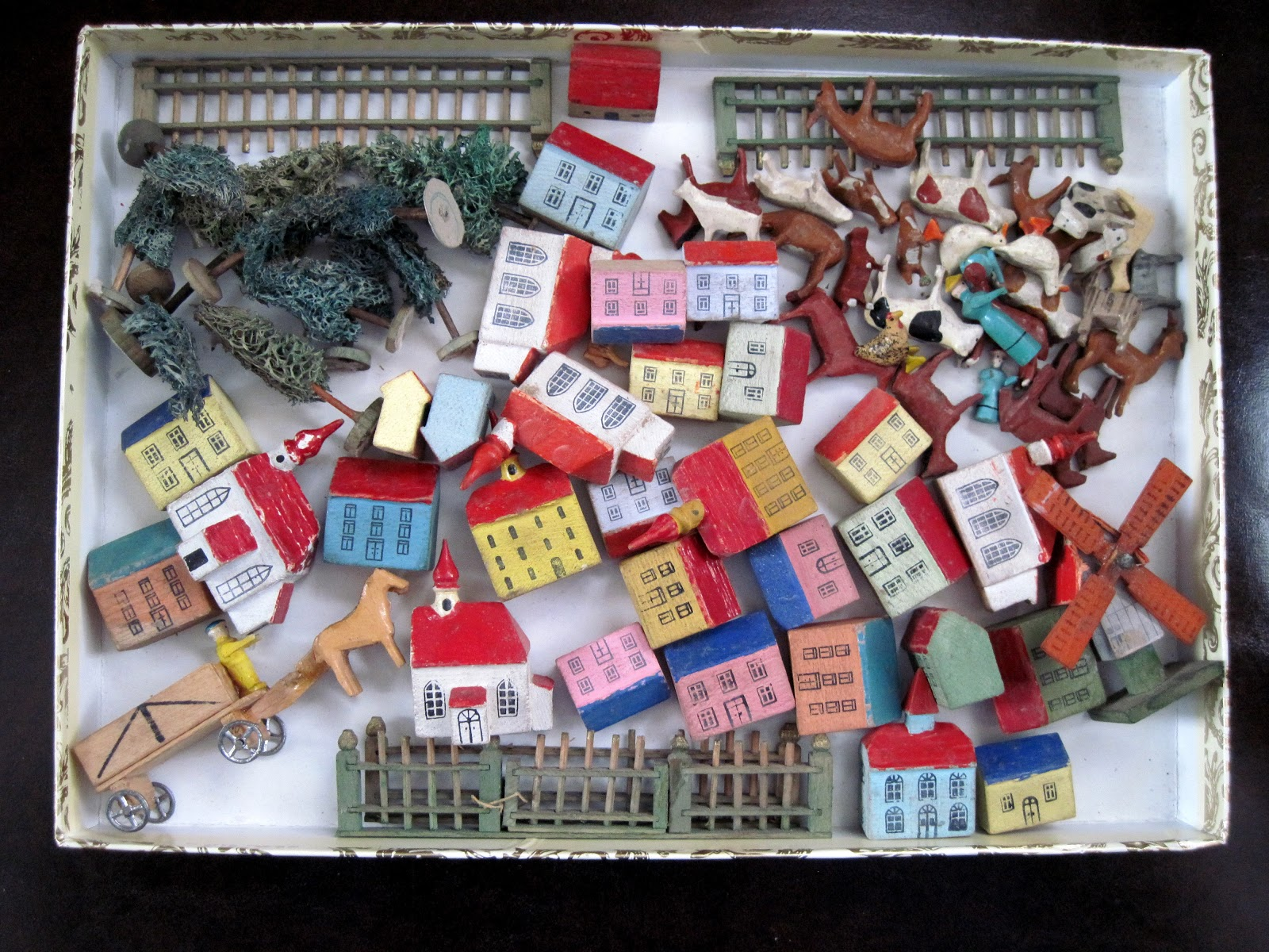 Tracy s Toys and Some Other Stuff German Miniature Wooden Toy