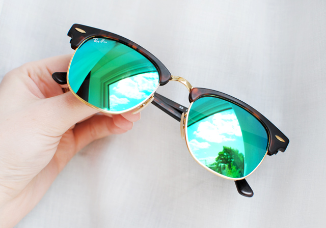 Ray Ban Mirrored Clubmaster