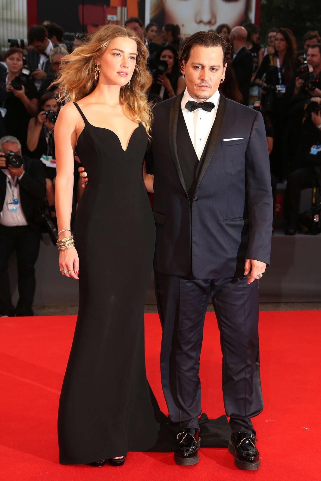 Amber Heard – 'Black Mass' Premiere in Venice