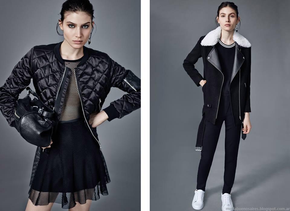 Ay Not Dead otoño invierno 2015. Camperas de cuero, sacos y tapados invierno 2015. Moda otoño invierno 2015.