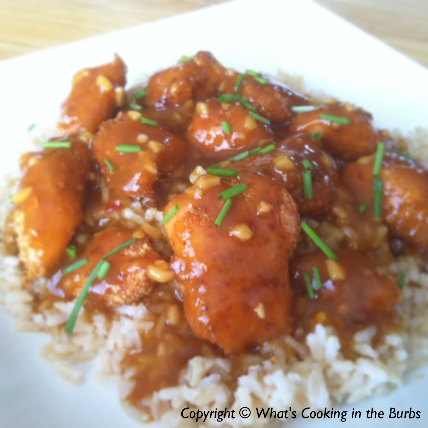 What's Cooking in the Burbs: Crispy Baked Orange Chicken