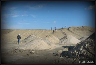 mount sandy sea bright nj route 35 sand dune