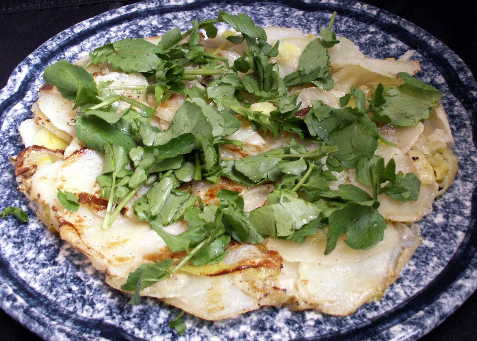Mom, What's For Dinner?: Leek and Potato Galette (gluten free)