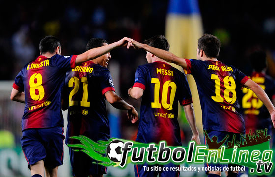 Barcelona vs Celtic en Vivo 2012
