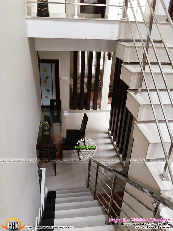 Staricase handrail