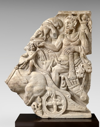 analysis of sarcophagus with the triumph From the metropolitan museum of art, unknown roman, marble sarcophagus with the triumph of dionysos and the seasons (ca ad 260–270), marble, 34 × 85 × 3.
