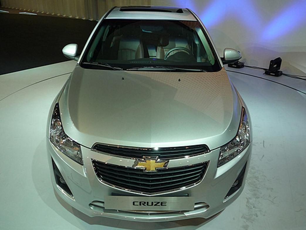 car in Chevrolet Cruze 2013