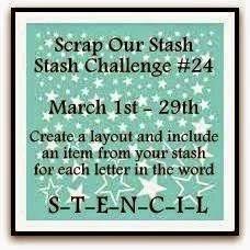 Stash Challenge #24~ Word Challenge