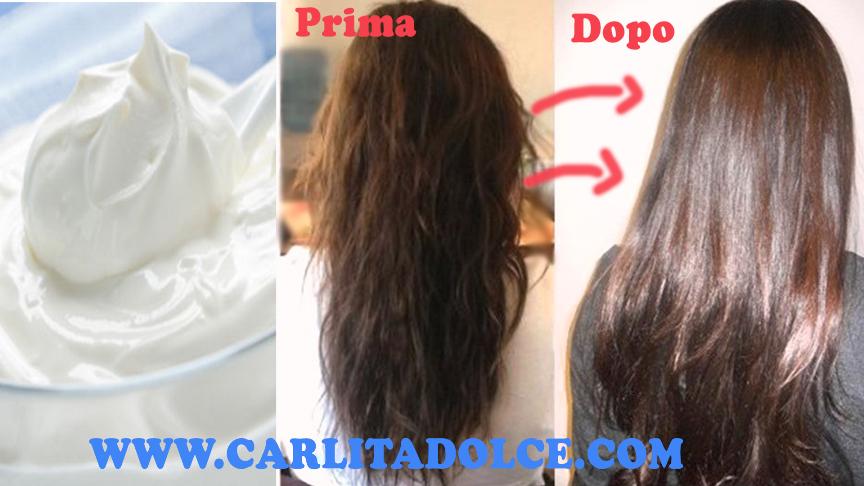 Lavaggio da capelli con vitamina E