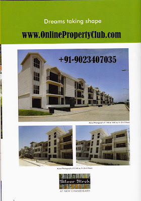 OMAXE SILVER BIRCH MULLANPUR NEW-CHANDIGARH G+2 3BHK, 4BHK
