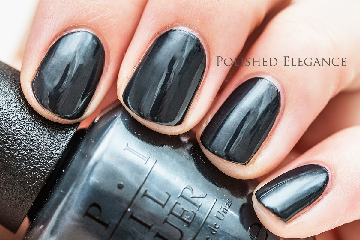 OPI - Dark Side Of The Mood - Fifty Shades Of Grey collection swatches review