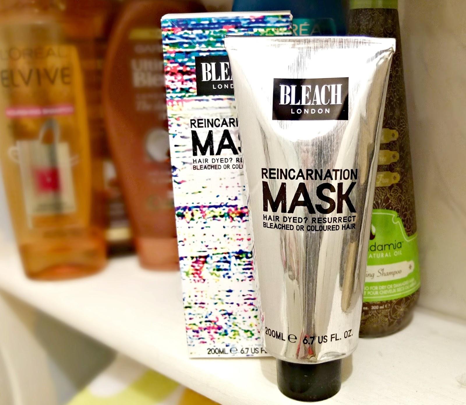 bleach london reincarnation mask review