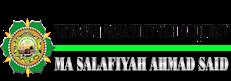 MA Salafiyah Ahmad Said Kudus