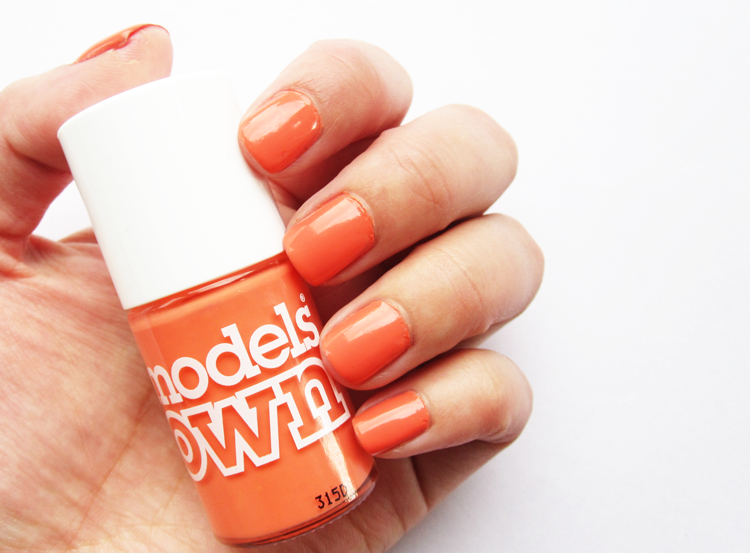 A picture of NOTD: Models Own - Fuzzy Peach